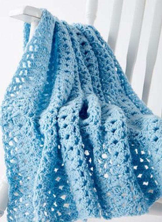 Knit Baby Blanket Wave Pattern : 394 best Crochet images on Pinterest Crochet ideas, Crochet projects and Fr...