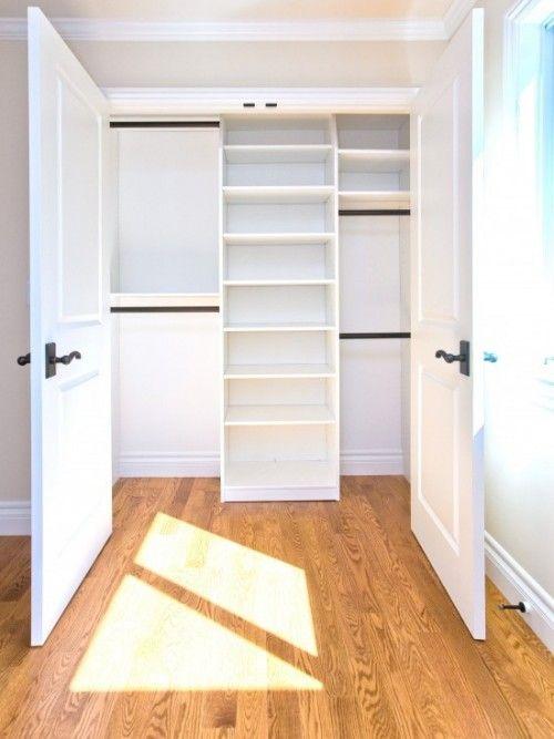 Rethink a small closet