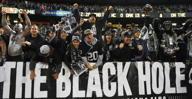 Oakland Raiders climb 14 spots in ESPN's Ultimate Standings
