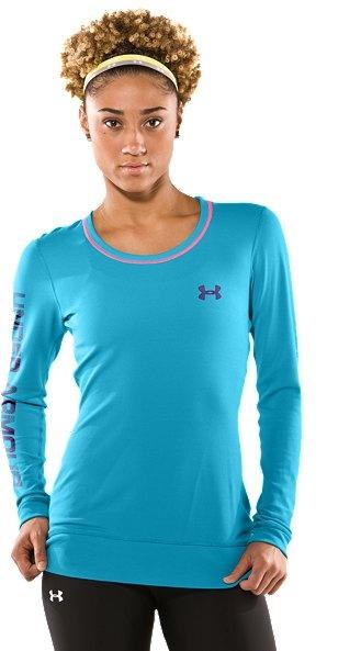 Women's AllSeasonGear® Team Girl Graphic Longsleeve Shirt $29.99. All-season longsleeve shirt with a sleek, comfy feel & a little UA attitude. #UnderArmour