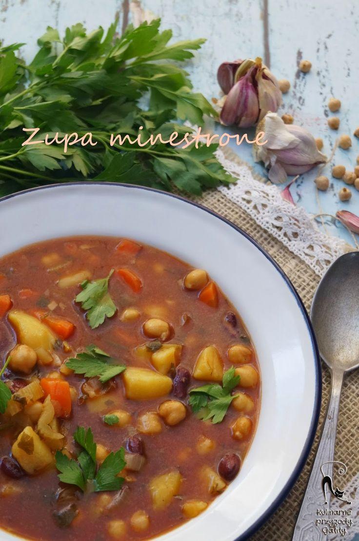 Sardyńska zupa minestrone