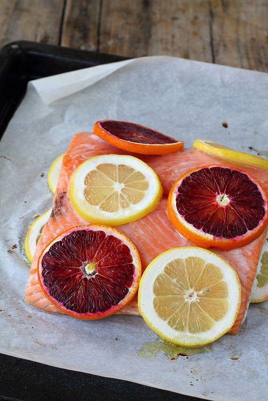 Trancio di salmone norvegese al forno