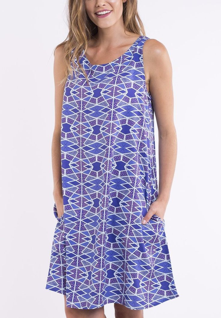 elm - Poolside Trapeze Dress
