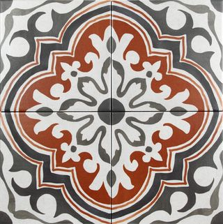 Marokkolaislaatta Dot Emp Perugia Rosso (Kaakelikeskus) Vähän ku ois eri värit... ;)