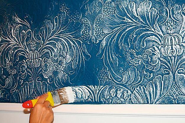 Modernes Interior Design mit Lincrusta bietet eine grosse Vielfalt an Mustern und Tapeten.