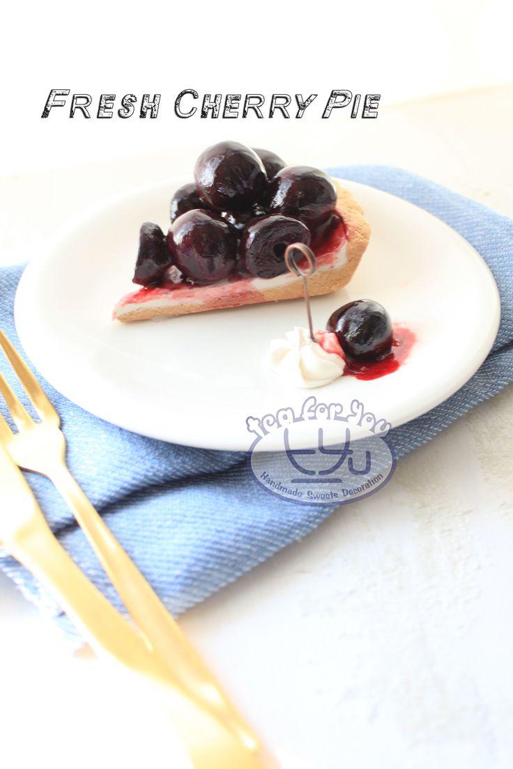 https://www.instagram.com/teaforyout/ https://twitter.com/TeaForYouT  チェリーパイメモスタンド♪ Fresh Cherry pie memo stand  #スイーツデコ #フェイクスイーツ #フェイクフード #粘土 #ハンドメイド #手作り #スイーツ #デザート #タルト #フルーツ #イベント #パイ #チェリー #SweetsDecoration #FakeSweets #FakeFood #Handmade #Crafting #Clay #Clayart #Sweets #Dessert #Tart #Fruit #Pie #Cherry