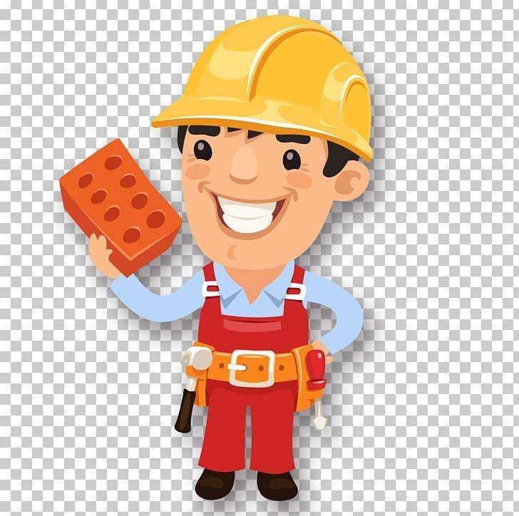 Laborer Information Png Adobe Illustrator Bricks Cartoon Construction Worker Decoration Png Adobe Illustrator Illustration