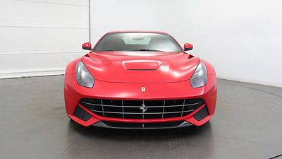 2015 Ferrari F12berlinetta 2dr Coupe 2015 Ferrari F12berlinetta Rosso Corsa over Nero Low Miles, One Owner, Local AZ