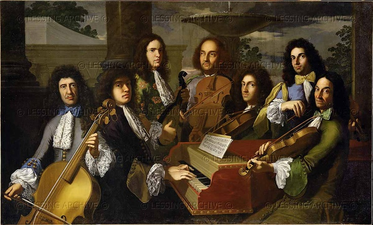 baroque orchestra painting - photo #9