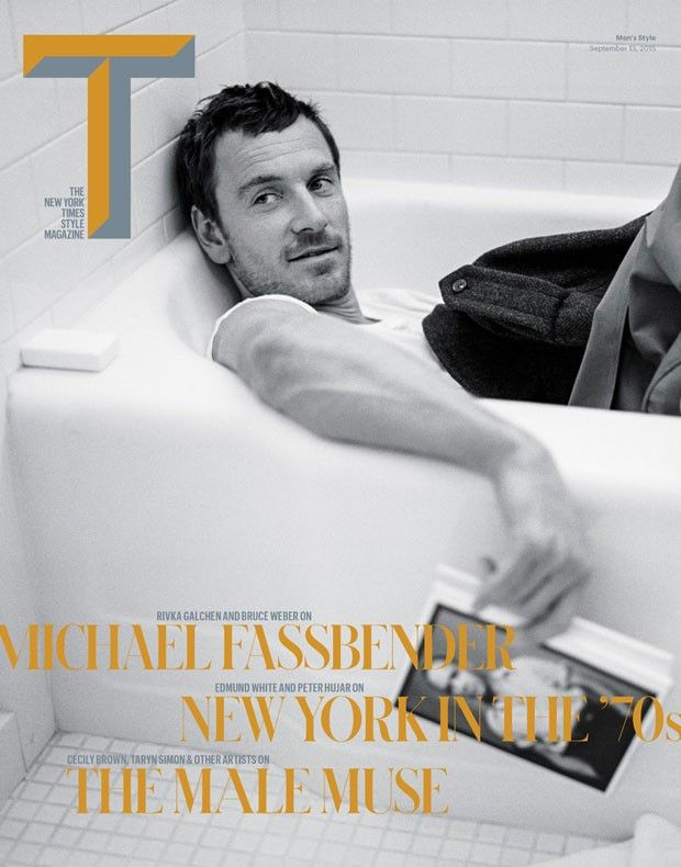 Michael Fassbender Is T Magazine's Striking Cover Star