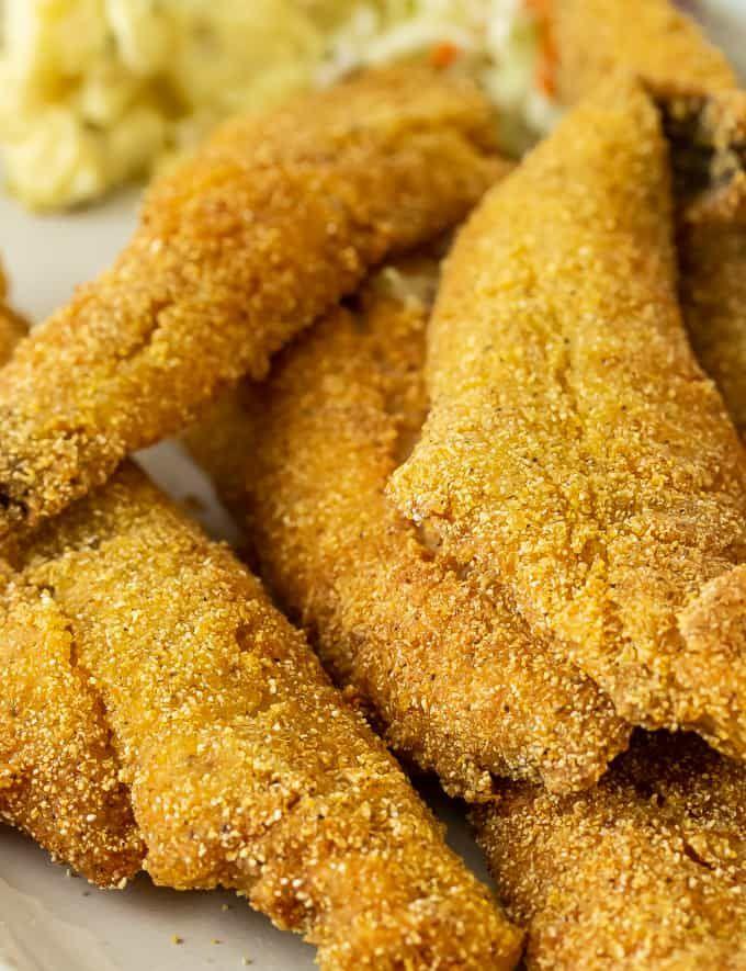 Southern Pan Fried Fish Recipe Fried Fish Recipes Catfish Recipes Fried Catfish Recipes