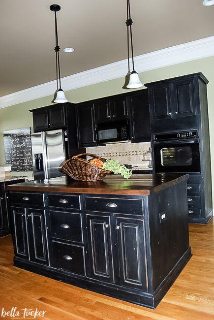 Kitchen Cabinet Painting Franklin TN | Distressed kitchen ...
