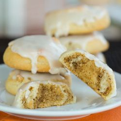 Italian Walnut Pillow Cookies | Brown Eyed Baker