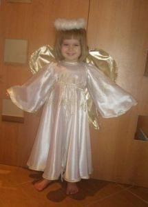 Костюм ангела для маленького мальчика
