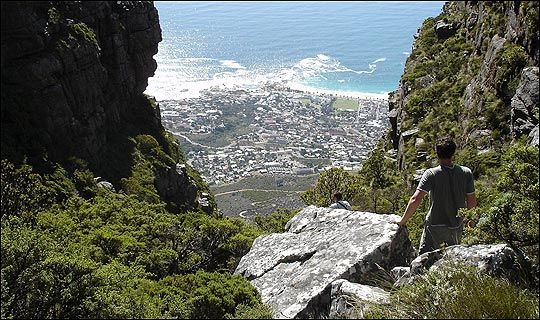 Take great care when walking on Table Mountain. We recommend you use the friendly services of Hike Table Mountain. #hike #tablemountain #capetown #daytrip #walk #nature #southafrica #tour #sights #sightseeing