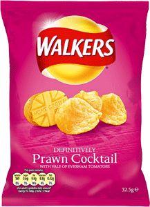 Food Ireland Walkers Prawn Cocktail 32.5g (1.1oz) X 48
