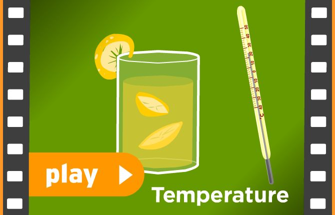 Brain Pop Video: Temperature  Is 30 degrees C hot or cold weather?  You'll learn how to use a thermometer to see how hot or cold something is. See how to measure temperature using two different scales: degrees Fahrenheit and degrees Celsius. Find out the temperatures at which water boils and freezes, and the body temperature of a healthy human. Learn how to find the outdoor temperature and use it to help you choose which clothes to wear and what activities to enjoy!