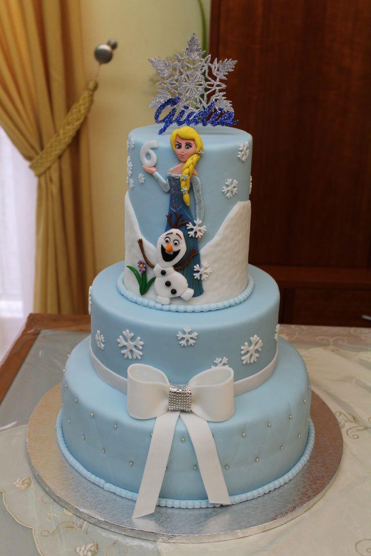 Torta in pdz Frozen