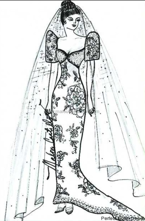 Filipiniana inspired butterfly sleeves wedding dress