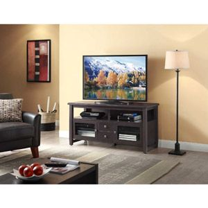 """Whalen TV Stand for TVs up to 60"""", Espresso $170"""