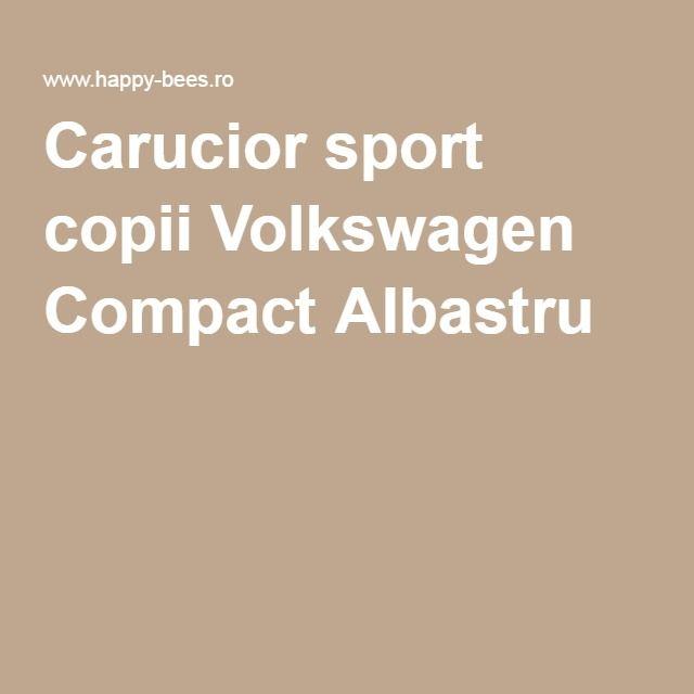 Carucior sport copii Volkswagen Compact Albastru