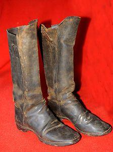 Civil War Era Cavalry Boots 1860s. *s*