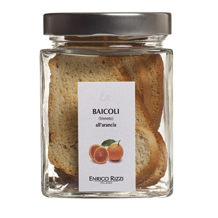 Baicoli veneti aromatizzati all'arancia - Enrico Rizzi Milano