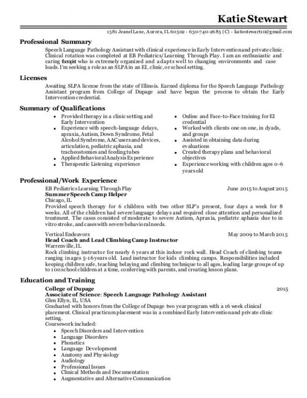 Agreement Letter Sample Speech And Language Speech Language Pathologists Resume Examples