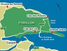 Cap des Rosiers, Cap-aux-Os, Grande-Grève font parti de ce qu'on appelle aujourd'hui, le parc Forillon en Gaspésie