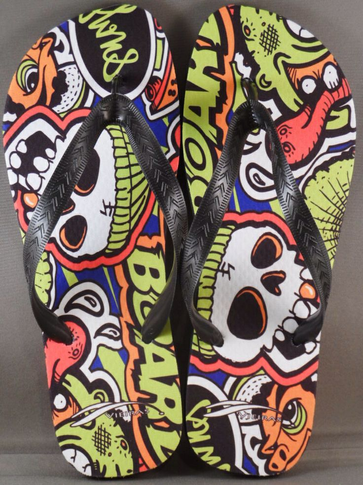 The skull slippers by Vieiras Slippers