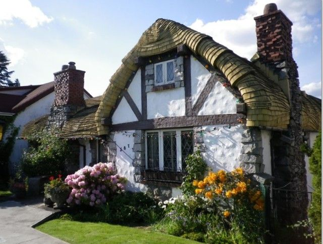 The Hobbit House at 587 West King Edward | Five Eccentric B.C. Houses