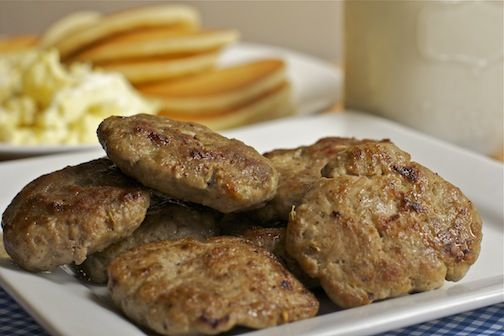 Make homemade turkey breakfast sausages! So easy and delicious!