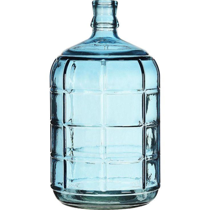 VAAS RUIT AZUUR 41 CM - Stijlvolle vaas van azuurblauw glas voor extra sfeer in huis. Hoogte: 41 cm. #kwantum_woonahaves_vaas2 #kwantum #kwantum_nederland #woonahaves #daarwoonjebetervan