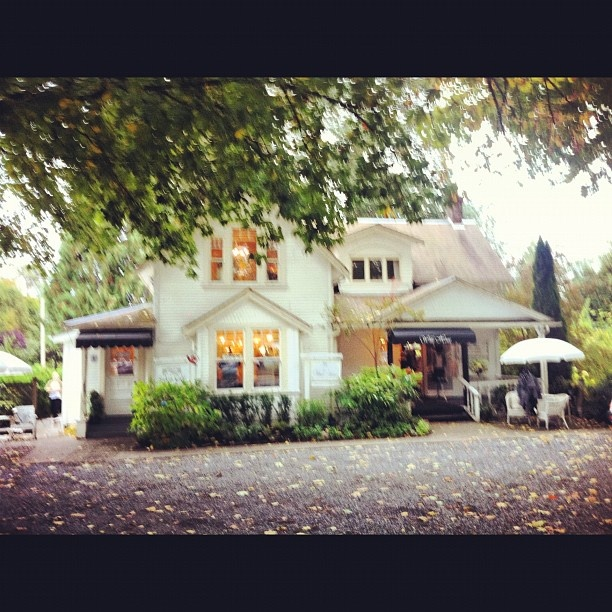 Cute tea shoppe and clothing store #fortlangley - @glamorouslyjill- #webstagram