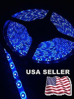boat-parts: 2 NEW 20' MARINE BOAT BLUE IP68 WATERPROOF LED STRIP LIGHTS 60LED/M WHITE PCB #Boat - 2 NEW 20' MARINE BOAT BLUE IP68 WATERPROOF LED STRIP LIGHTS 60LED/M WHITE PCB...