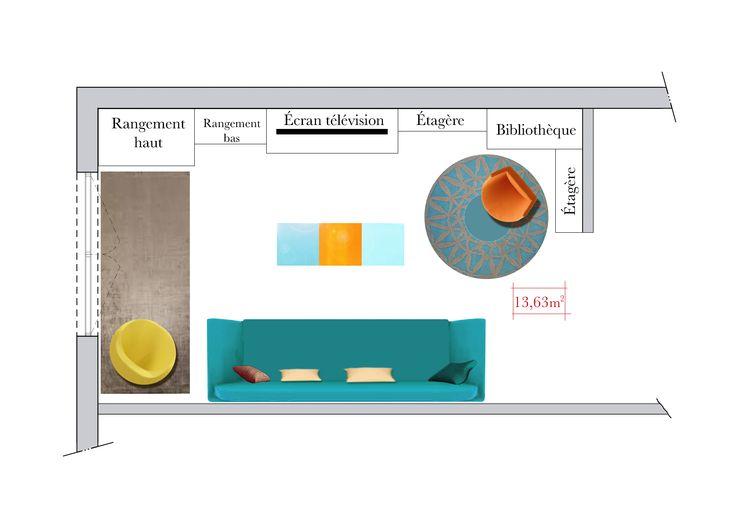 Conseils d'architecte : comment aménager un salon rectangulaire