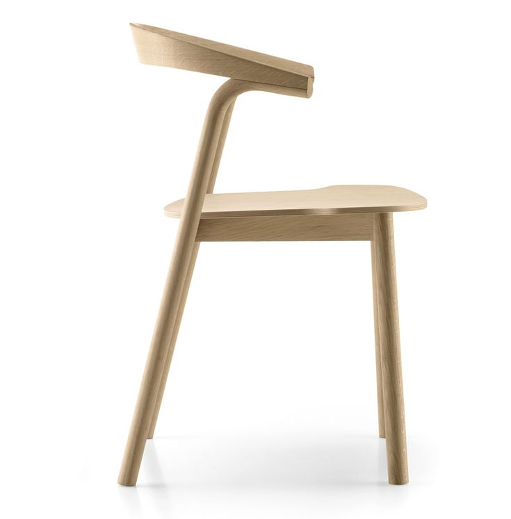 High Quality Makil Chair For Alki, By Patrick Norguet. Excellent Design Details On This  Stackable Oak