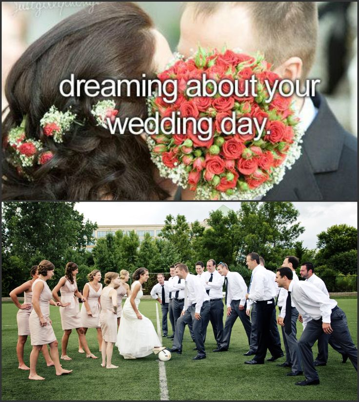 im definitely playing soccer at myy wedding #soccergirlprobs