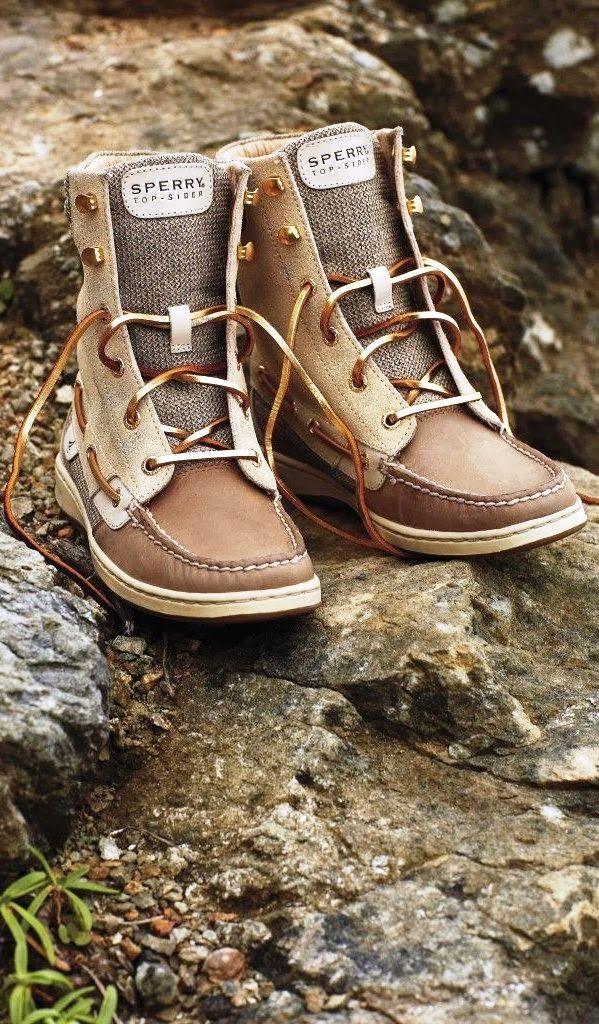 Sperrys boots!