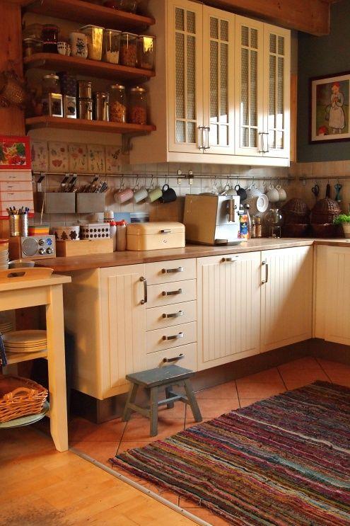 Endlich warme Füße..., Tags Teppich + Küche + Ikea stat