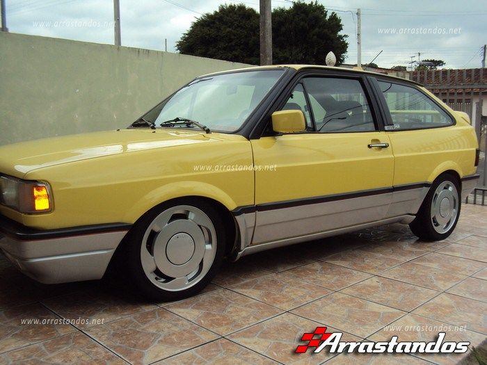 Vw Gol GTi Quadrado Turbo