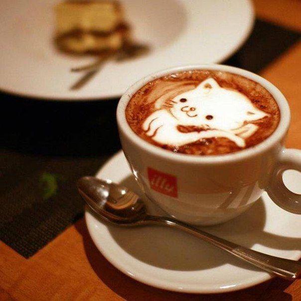 Воскресный кофе для любимых подписчиков!)