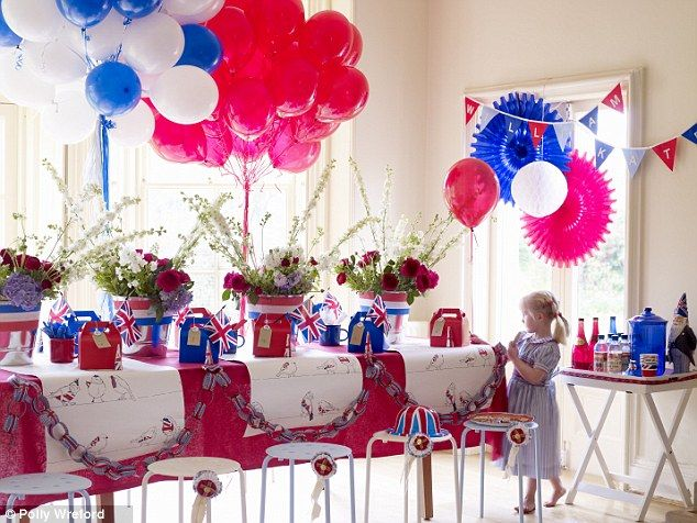 Party Theme Ideas Red White And Blue