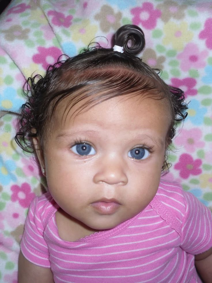 Girl With The Blog: Blue Eyes @ Biracial & Mixed Hair