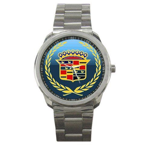 Cadillac Logo Sport Metal Watch