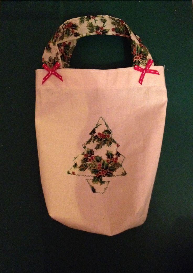 Handmade Christmas Tree Tote Bag £8.50