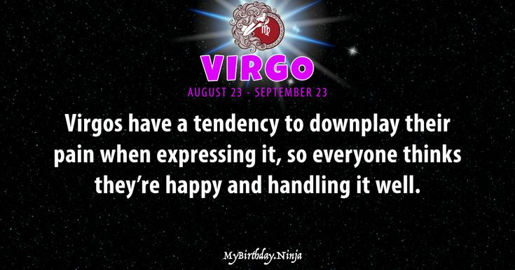 Accurate VIRGO daily horoscope. LOVE, money, career, and shareable personality traits. FREE astrology reports