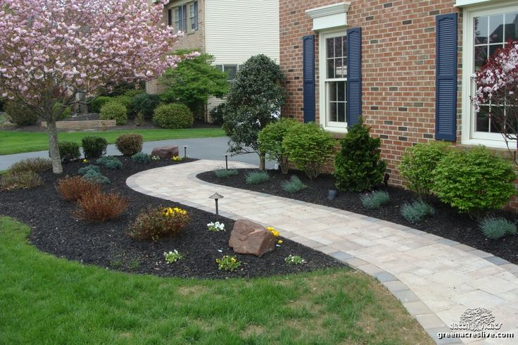 Curved Walkway Curved Walkway Using Capitol Pavers