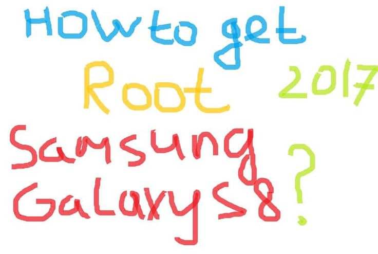 Awaqa: How to get root on Samsung Galaxy S8 and S8 Plus: ...