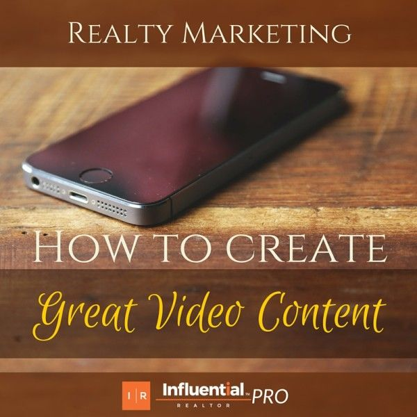 Real estate pros...still struggling with reaching your target audience? See Influential Realtor's latest: Realty Marketing: How to Create Great Video Content for your Blog.  #realestate #video #blog #marketing #socialmedia   http://influentialrealtor.com/2015/10/realty-marketing-how-to-create-great-video-content/